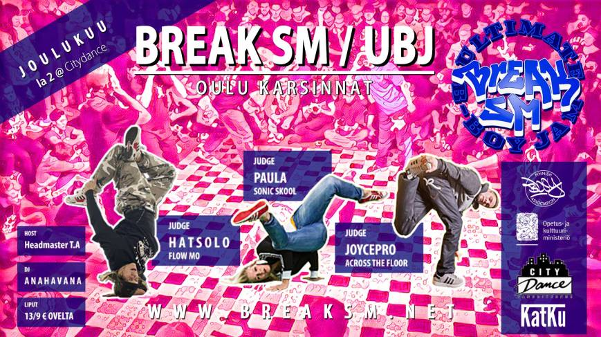 Break SM / UBJ Oulu 2.12.2017
