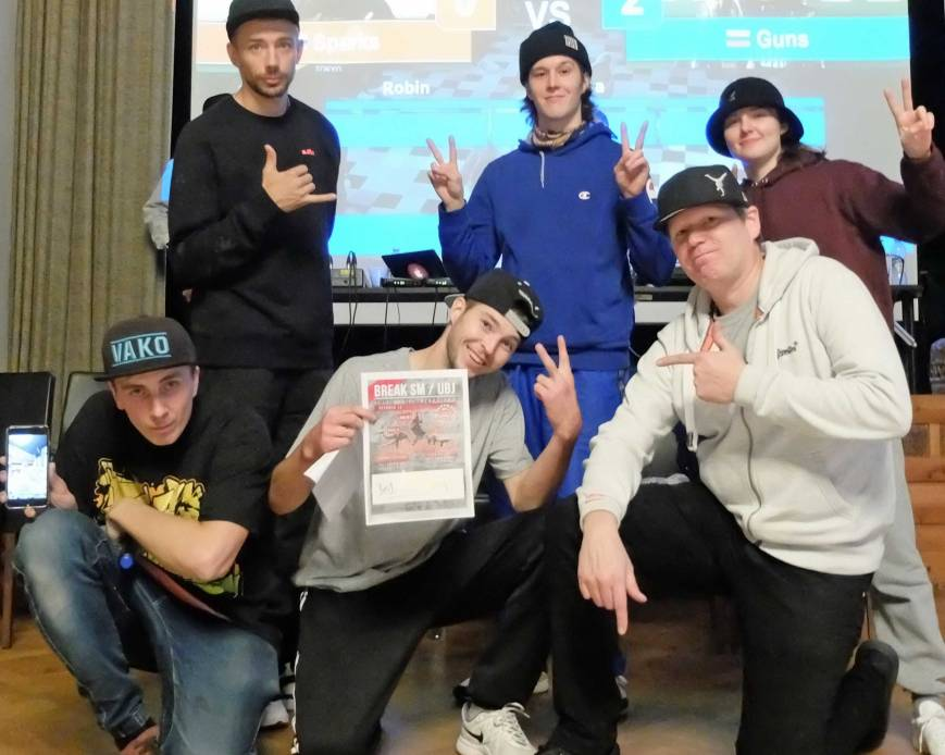 BreakSM eliminations Winner bboy Guns