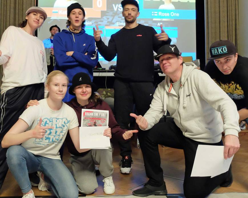 BreakSM eliminations Winner bgirl Rose One