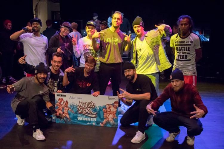 Floorphilia BOTY Nordic crew battle 2018 winner