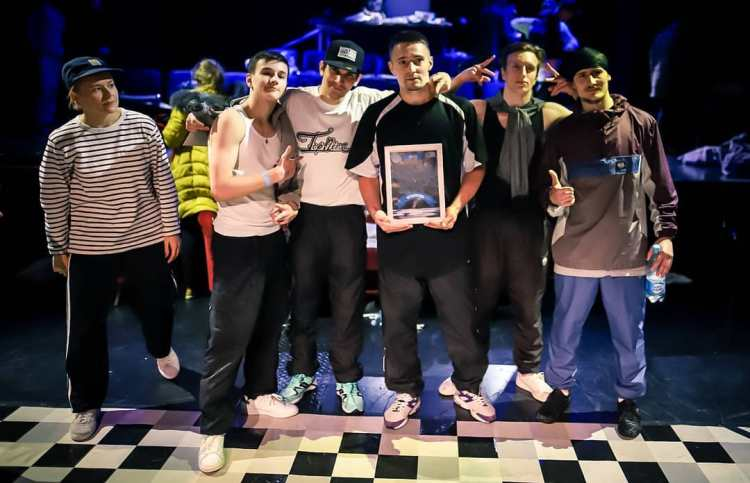 Crew winner, FYXO Crew (RUS)