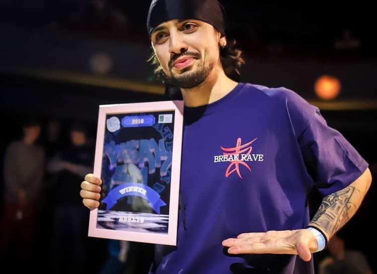 Winner: Bboy Dale (RUS)